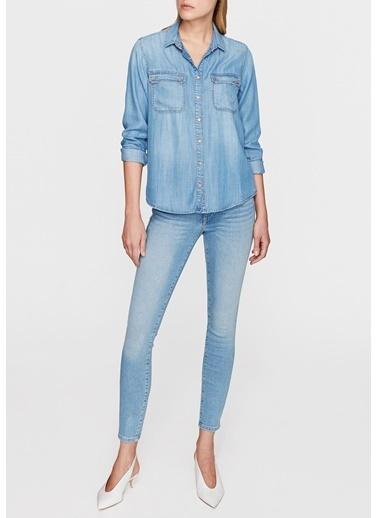 Mavi Jean Gömlek | Sammy - Dar Kesim İndigo